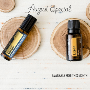 August Special Offers – Manuka, Litsea and On Guard