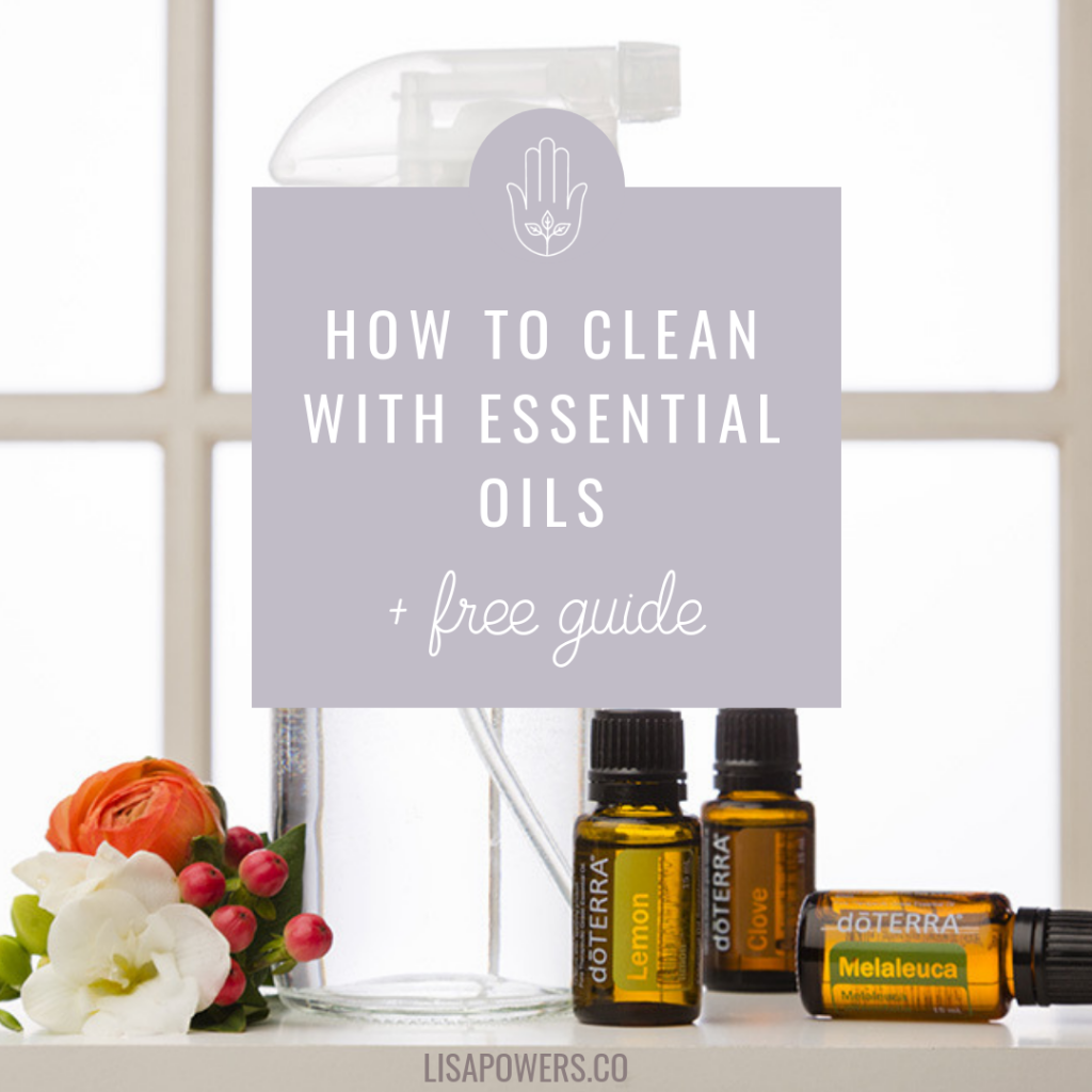 How to Clean with Essential Oils