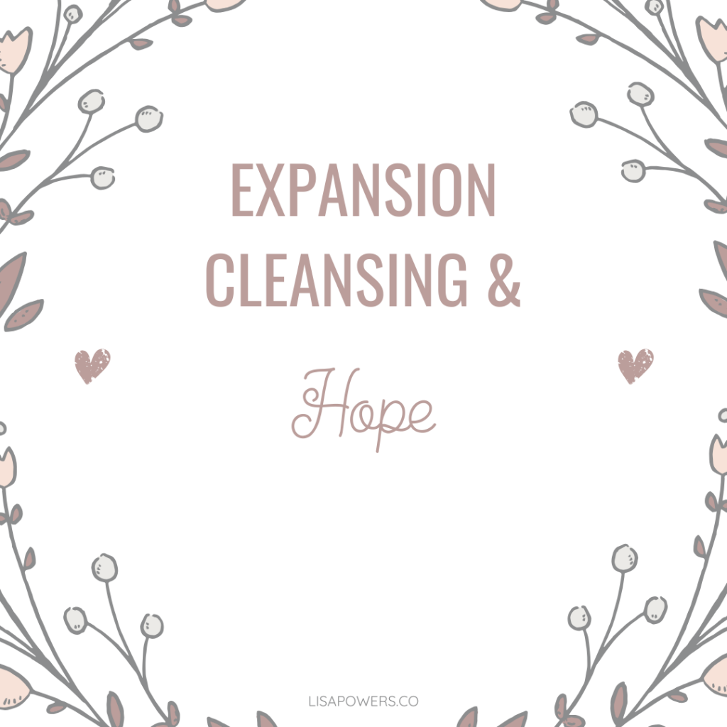 How to Cleanse and Expand