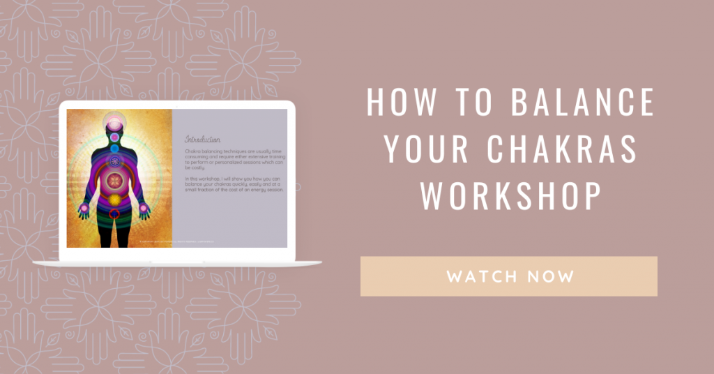 How to balance your chakras Workshop. Watch Now