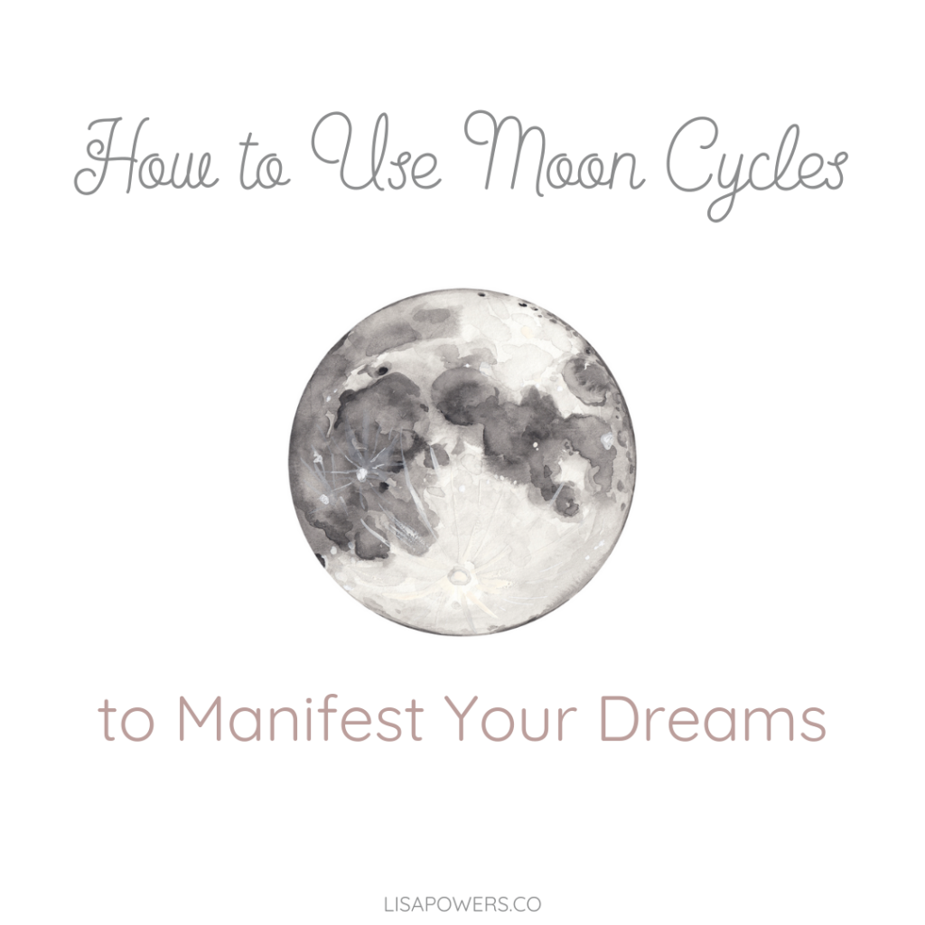 Using Moon Cycles for Manifesting