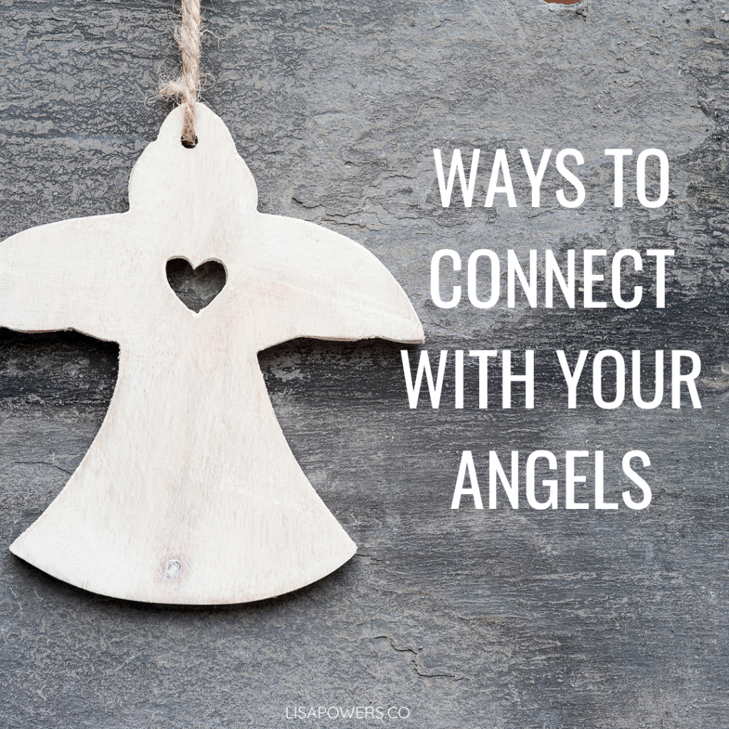 How to connect with angels
