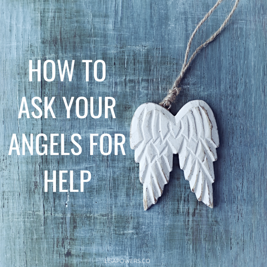 How to ask your angels for help