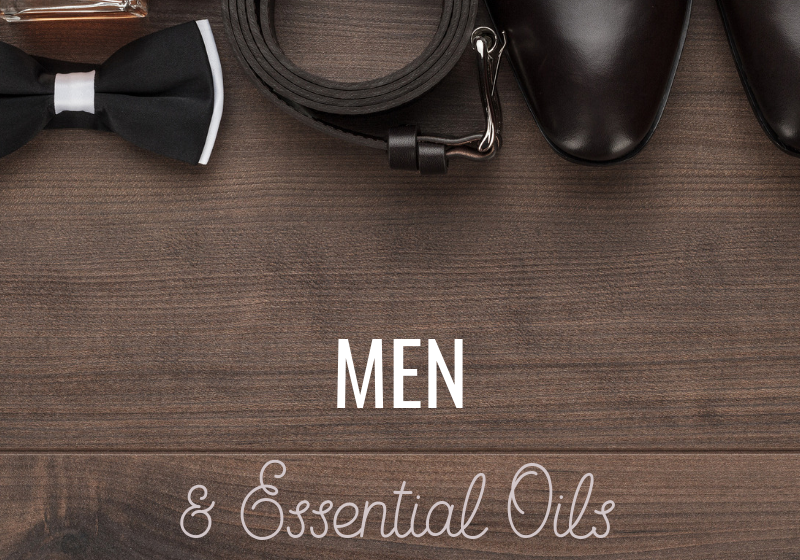 Men and Essential oils guide